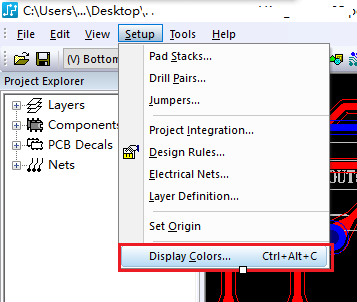 PADS Layout显示管脚编号和位号